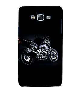 printtech Superfast Bike Back Case Cover for Samsung Galaxy Core 2 G355H