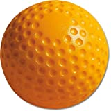 MacGregor 9 in. Yellow Dimpled Baseballs - 1 Dozen