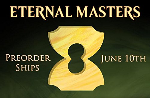 MTG Magic Eternal Masters Booster Box PREORDER Ships On June 10th