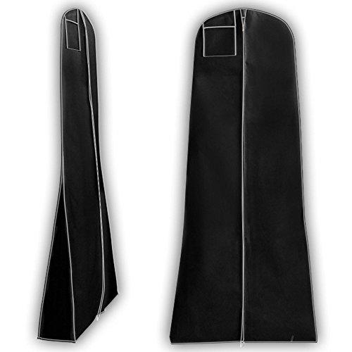 Hangerworld-Fundas-Para-Vestidos-De-Novia-Abultados-O-Grandes-Transpirables-Color-Negro-183-cm