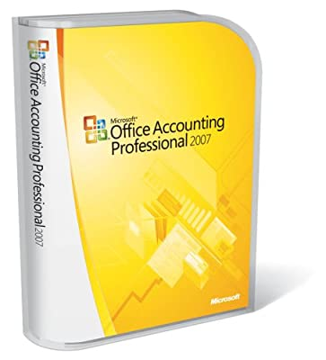 Microsoft Office Accounting Professional 2007 UPGRADE [OLD VERSION]