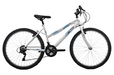Raleigh Women's Activ Flyte II Rigid Mountain Bike - White, 17 Inch from Active