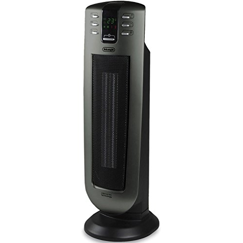 De'Longhi TCH7090ERD Safe Heat 1500W Ceramic Tower Heater with Remote control and ECO setting (Delonghi Space Heater Digital compare prices)