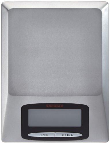 Soehnle 67079 Balance Optica Electronique Inox Brosse