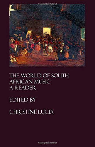 The World of South African Music: A Reader