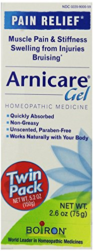 Boiron Arnicare Gel for Muscle Aches, 2.6-Ounce(Twin pack)