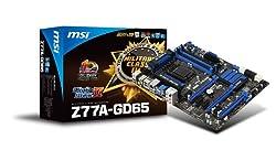 MSI Z77A-GD65 Z77 DDR3 1600 LGA 1155 Motherboards