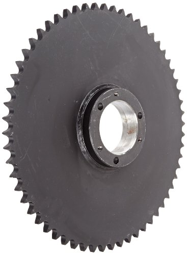 Martin Roller Chain Sprocket, QD Bushed, Type B Hub, Single Strand, 60 Chain Size, For Sf Bushing, 0.75