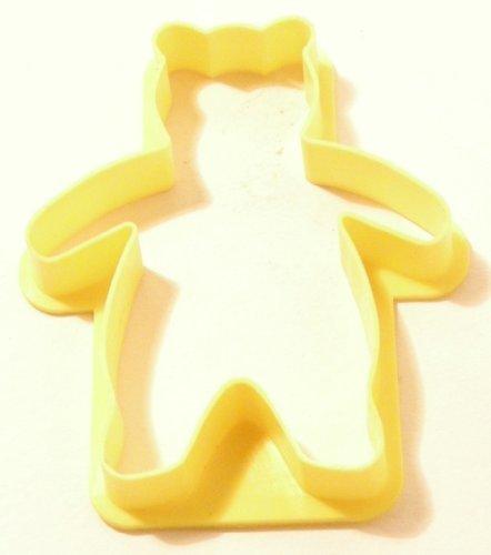 Cookie cutter Teddy bear plastic 6cm Guaranteed quality