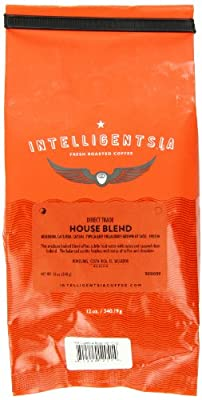 Intelligentsia House Blend, Direct Trade, Whole Bean Coffee, 12-Ounce by Intelligentsia
