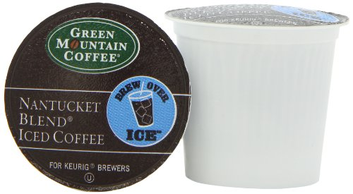 Green Mountain Coffee Iced Coffee K-Cup, Nantucket, 12-Count front-537507