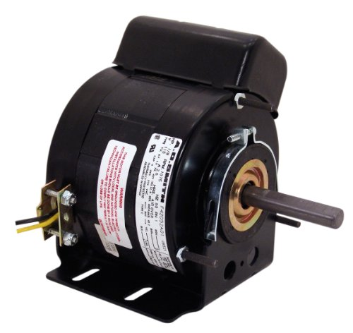A.O. Smith U6521 1/8 Hp, 5.0 Diameter, Psc, Teao Enclosure, 2.6 Amps, 1/2-Inch By 2-1/2-Inch, Reversible Rotation, Sleeve Bearing Unit Heater Motor