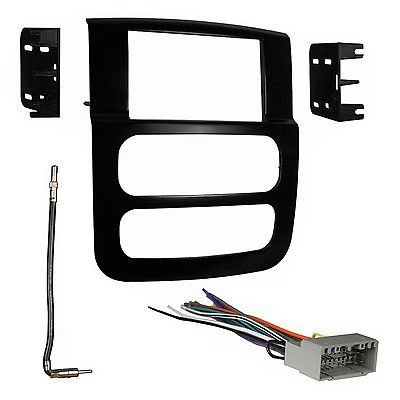 2002-05 Dodge Ram Dash Kit + Non-Amp Interface + Antenna Adapter (Dodge Ram Infinity Harness compare prices)