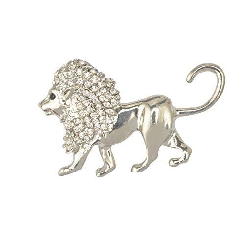 kristall-lowe-tier-brosche-vintage-frauen-manner-mode-schmuck-silber-geschenk