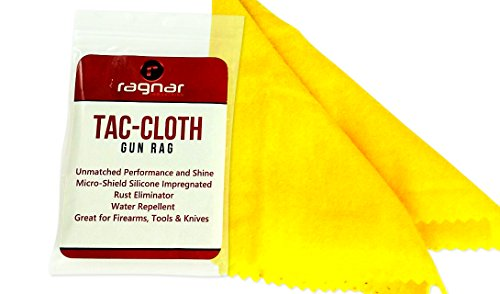 Find Bargain Tac-Cloth Gun Cleaning Cloth Rag (Micro-Shield Silicone Moisture Guard that Eliiminates...