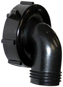 "Valterra T01-0091VP 1-1/2"" x 3/4"" 90° Drain Connector"