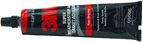 3M 5 fl oz Super Weatherstrip Adhesive Black (Weatherstrip 3m compare prices)