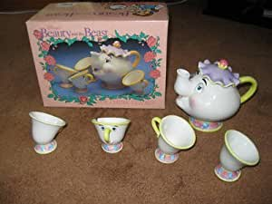 Beauty And The Beast Toy China Tea Set Toys