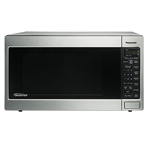 Panasonic Luxury Full-Size 2.2 Cu. Ft. Genius Countertop/Built-In Microwave Oven With Inverter Technology, Stainless