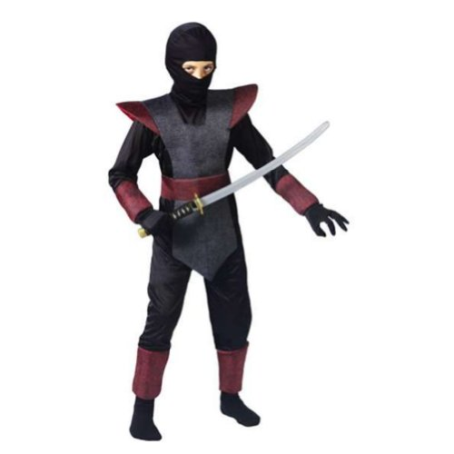 Fun World Costumes Boys Fun World Ninja Fighter Costume