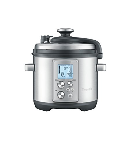 Breville The Fast Slow Pro, Silver (The Fast Slow Cooker compare prices)
