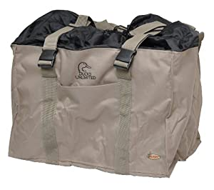 Avery Outdoors Greenhead Gear 6 Slot Mid-Size Full Body Goose Decoy Bag - Field Khaki by GreenHead Gear