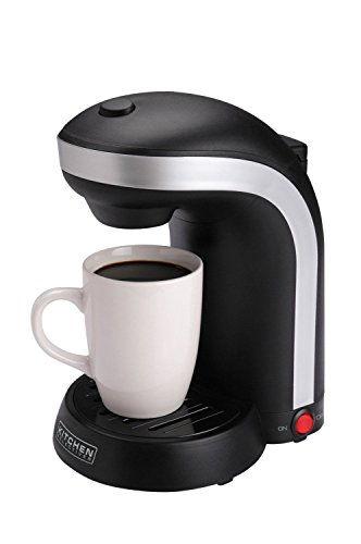 1-Cup Single Serve Drip Coffee Black Maker (Automatic Coffee Dispenser compare prices)