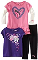Puma - Kids Baby-Girls Infant 3 Pack Pant Set by Puma - Kids