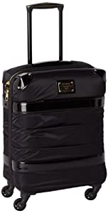Samsonite Koffer Bordgepäck Thallo Spinner EXP Fashion, 55 cm, 34 Liter, black, 55902-1041