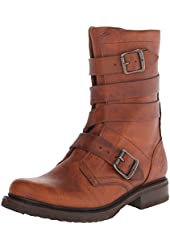 FRYE Women's Veronica Tanker SHOVN Engineer Boot