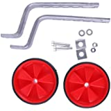 "Banggood Universal Kids Bicycle Training Wheels Fits 12"" 14"" 16"" 18"" 20"" Bikes Red"