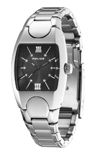 Police Women's PL-11049LS/02M Lucid White Dial Stainless Steel Watch