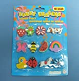 Funky Shaped Erasers 12/Pk (SG0035)