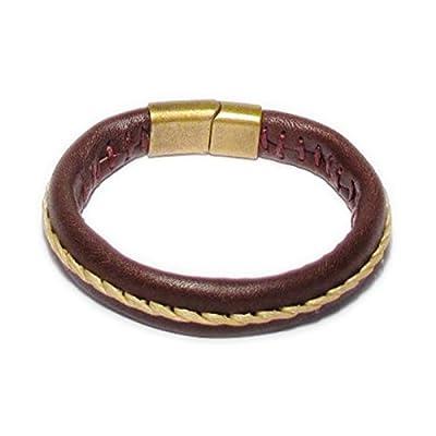 AUTHENTIC HANDMADE Leather Bracelet, Men Women Wristbands Braided Bangle Craft Multi [SKU003054]