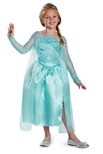 Elsa Snow Queen Gown Classic Frozen Costume 76906