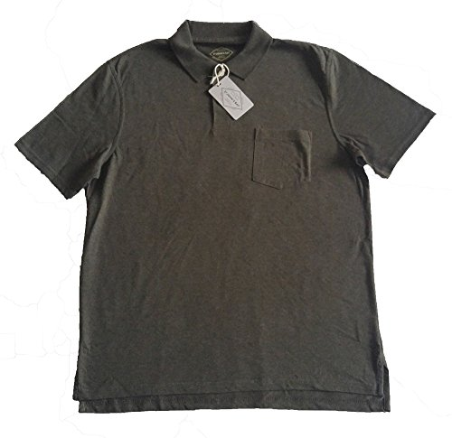 mens-st-johns-bay-short-sleeve-pocketed-polo-shirt-rich-olive-heather-xl