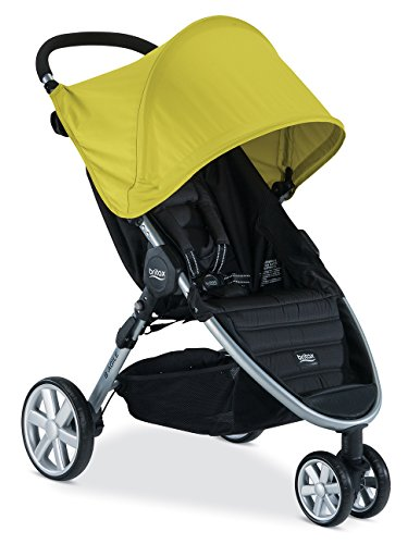 Britax B-Agile 3 Stroller, Limeade - 1
