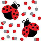 Ladybug Fancy Confetti Party Accessory