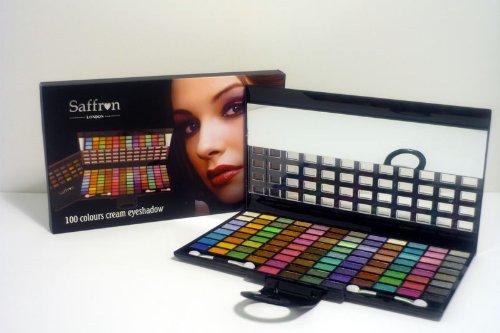 Saffron 100 Colour Cream Eyeshadow Palette