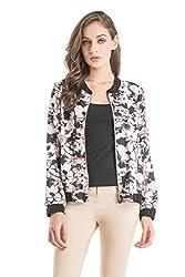 Kazo Women's Varsity Jacket (109160WHITECm)