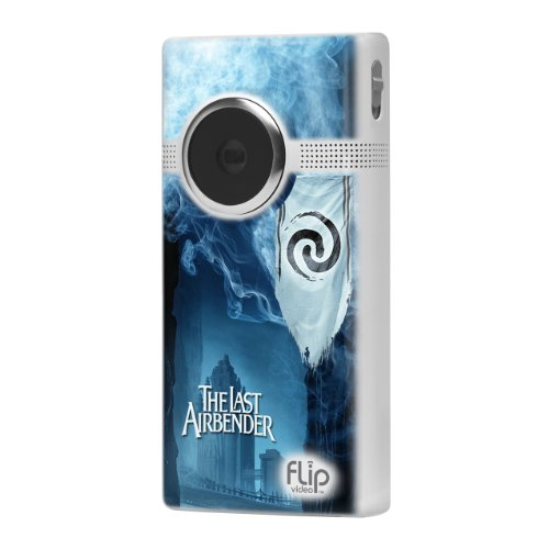 Flip MinoHD Video Camera - 8 GB, 2 Hours (The Last Airbender - Air)