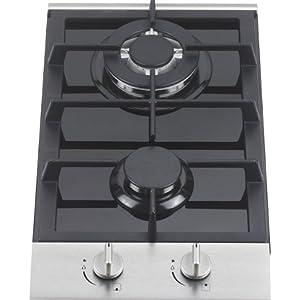Ramblewood high efficiency 2 burner gas cooktop