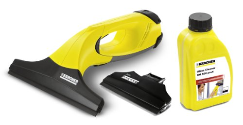 Karcher WV50 Cordless Window Vacuum AND 170mm Suction Head AND Glass Cleaner Concentrate