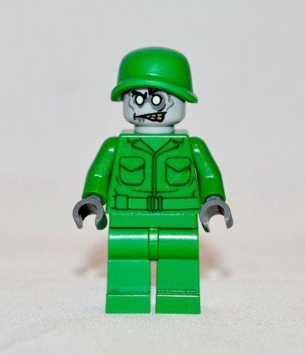LEGO ZOMBIE ARMY MAN- Custom Minifigure - 1