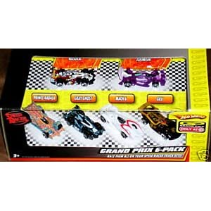 Hot Wheels Speed Racer Grand Prix 6 Pack 1:64 Diecast
