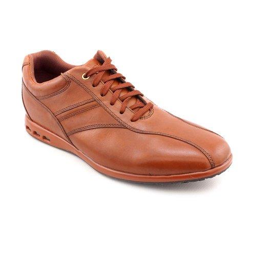 Rockport Kaduva Bike Toe Oxfords Shoes Brown Mens