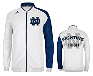 Adidas Notre Dame Fighting Irish Adult On Court Warm Up Jacket by adidas