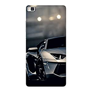 Enticing Vintage Super Car Multicolor Back Case Cover for Huawei P8