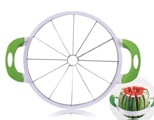 Cheap Topluck Melon Watermelon Cantaloupe Stainless Steel Slicer with Handles Large Size 39cm*27.6cm