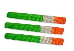 Indian Tri-Colour Cricket Bat Handle Grip 3 pieces